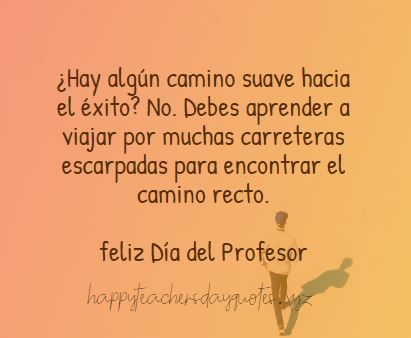Happy Teachers Day Greeting Cards in Spanish 2